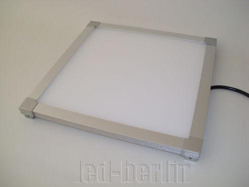 SMD LED Panel ultra slim warmwei u00df 60×60 cm quadratisch Deckenleuchte Wandleuchte eBay -> Led Deckenleuchte Ultraslim