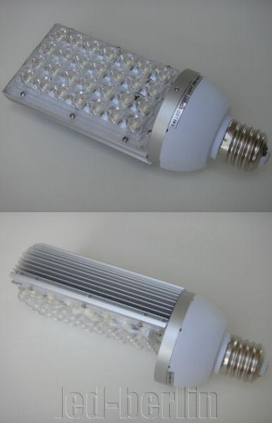 E40-LED-Leuchtmittel-Strassenlampe-Strassenlaterne-28x1W-HQI-Ersatz-250W-NEU