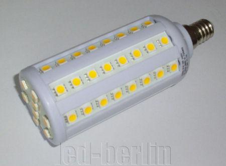 led smd 5050 e14 10w leuchte kerzen birne corn lampe warmwei