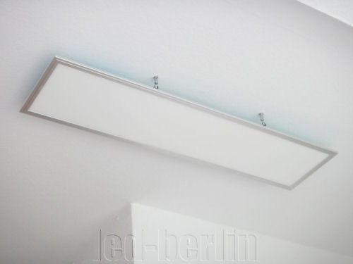 Led büro deckenleuchte hängeleuchte panel m weiß dimmbar fb